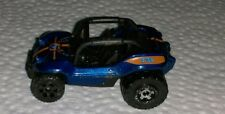 Vintage 2007 Mattel Matchbox Baja Bandit Blue Jeep Dune Buggy Beach Vehicle rare
