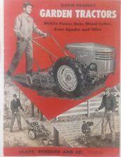David Bradley Sears Tractor COLOR Brochure Owner, Parts Service (7 Manuals)106pg