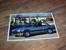 Photo de presse / Press Photograph PEUGEOT 205 GTI 1984 //