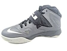 2013 Lebron James Soldier VII Basketball Shoes Youth 599818-20 Gray Size 7Y