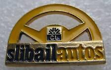 Pin's CL Crédit Lyonnais Slibail autos Volant #663