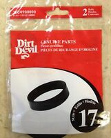 Genuine Dirt Devil Style 17 Vacuum Belt (2pk)