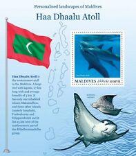 Z08 MLD16204b MALDIVES 2016 Haa Dhaalu Atoll MNH