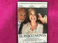 EL HIJO DE LA NOVIA DVD RICARDO DARIN HECTOR ALTERIO NORMA ALEJANDRO