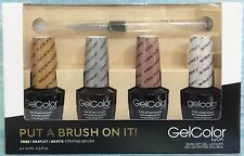 OPI GelColor PUT A BRUSH ON IT! Gwen Stefani Ltd Ed 7-pc Gift Set FREE Brush NIB