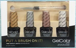 OPI GelColor PUT A BRUSH ON IT! Gwen Stefani Ltd Ed 7-pc Gift Set FREE Brush NIB