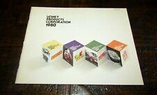 Matchbox Superfast 1980 Trade Catalogue USA VERSION VERY RARE