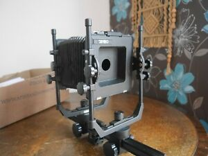 """Cambo Large Format 5x4 inch sheet film camera recessed lens board 4x5"""""""