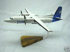 Fokker 50 Skyways Wood Airplane Model BIG Free Shipping