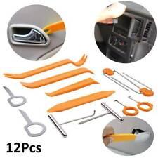 12x Car trim Removal Tool Kit Door Clip Panel Body stereo Audio Radio Pry tools
