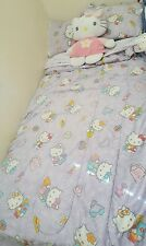 6 piece Twin Hello Kitty Bed Set