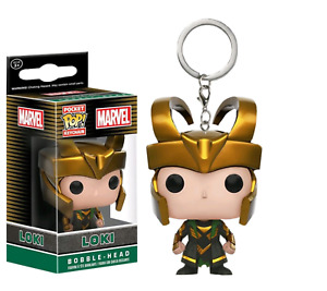 Loki - Marvel Funko Pocket Pop! Schlüsselanhänger Vinyl Figur