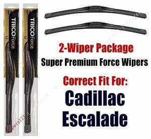 Wipers 2-Pack Hi-Performance - fits 2002+ Cadillac Escalade - 25220x2