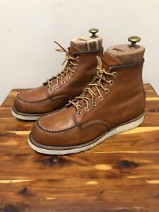 Red Wing Heritage #875 Boots Men's Size 8.5D Made In USA