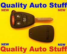 NEW Remote Head Key 4 Button Replacement Shell w/ Remote Start Pad KOBDT04A