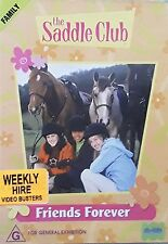 The Saddle Club - Friends Forever (DVD, 2004) Region 4 - Rare