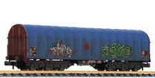 Liliput - ref.265779 - Vagón portabobinas Sahimms 901 grafiteado de la DB, ep.V