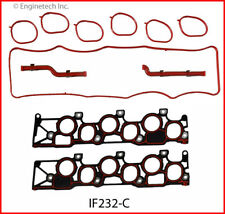 Engine Intake Manifold Gasket ENGINETECH, INC. fits 1999 Ford Windstar 3.8L-V6