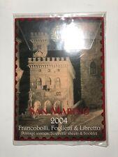 2004 RSM San Marino Folder Album Libro Libretto Pack Annata Year Yearpack