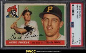 1955 Topps Gene Freese ROOKIE RC #205 PSA 5 EX