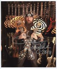 Zakk Wylde (Black Label Society) Signed  8 x 10 Photo Genuine In Person + COA