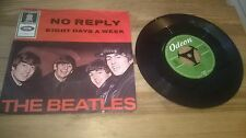"7""  Pop Beatles - No Reply (2 Song) ODEON McCartney"