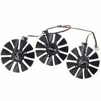 3PCS PLD09210S12HH VGA Fan For ASUS GTX1080 GTX1070 GTX1060 Graphics Card Fan