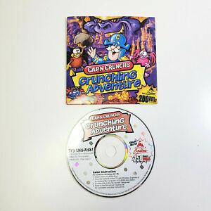 Macromedia Quaker Cap'n Crunch's Crunchling Adventure PC Software Game 1999 AOL