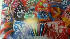 NEW YEAR'S EVE/EVENT PARTY KIT ( KIT FOR 25 PEOPLE ) ASSORTED COLORS/HATS/LEIS