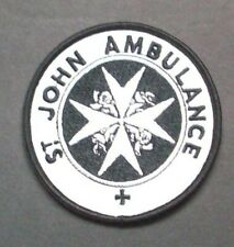 Doctor Who St. John Ambulance Patch