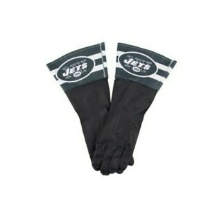 NFL New York Jets Licensed Latex Dish Cleaning Gloves New - One Size