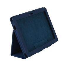 "Funda Polipiel Universal 10"" para Samsung Galaxy Tab 10"" P7500 P7510 Azul Qoopro"