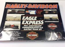 Harley Davidson 90th Anniversary Commemorative H.O. Electric Train Eagle Express