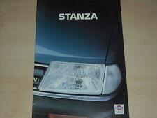 60752) Nissan Stanza Prospekt 07/1984