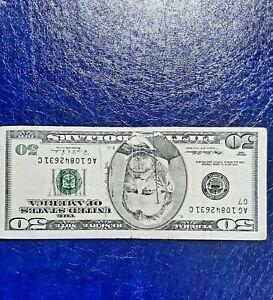 1996 VINTAGE $50 ERROR Miscut/ MISALIGNED  bill