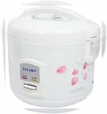 TRC-10 Cool Touch 10-Cup Rice Cooker and Warmer with Steam Basket White