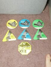 New listing Beastie Boys Backstage Soft Pass 7 pass set from the Hello Nasty Tour 1998