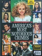 IN TOUCH MAGAZINE SPECIAL: AMERICA'S MOST NOTORIOUS CRIMES - FREE SHIP!