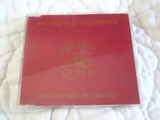 QUEEN WHO WANTS TO LIVE FOREVER CD SINGLE DUTCH HOLLAND FREDDIE MERCURY 2 TRACKS