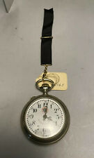 Vintage Trench Art Engraved Systeme Roskopf Onobled Pocket Watch