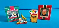 Hallmark Crayola Crayon 1989 Bright Journey & 1987 Bright Christmas Dreams