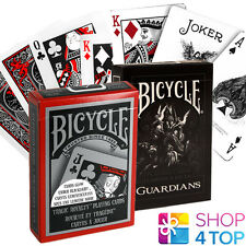 2 DECKS BICYCLE 1 GUARDIANS AND 1 TRAGIC ROYALTY PLAYING CARDS USPCC NEW