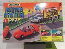 matchbox  Action system police chase set 1