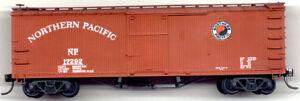 Funaro F&C HO  Northern Pacific 1918 40' Boxcar Truss rod boxcar Kit 1008