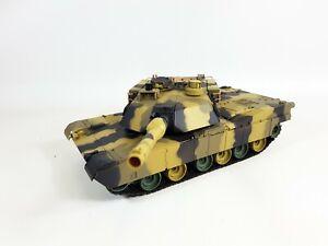 NEW Heng Long Radio Remote Control RC Abrams M1A2 Desert Camo Tank 1/24 2.4G V5