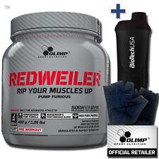 Olimp RED WEILER 480g Hardcore Pre-Workout Booster - REDWEILER  Citrulin malat