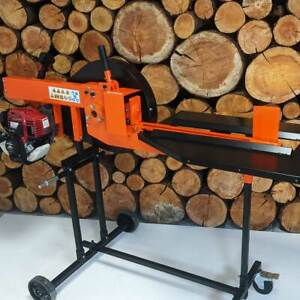 Forest Master Kinetic Petrol Electric 8 and 6 Ton  Log Wood timber Splitter