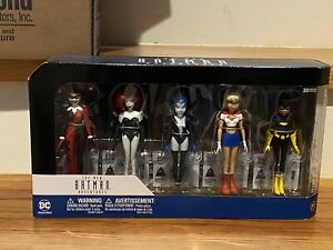 Batman The Animated Series Girls Night Out 5 Pack DC Collectibles New Adventures
