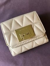 Michael Kors Quilted Patent Leather Tirfold Wallet NWT