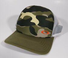 Oakley Snapback Camo Logo Trucker Hat Cap